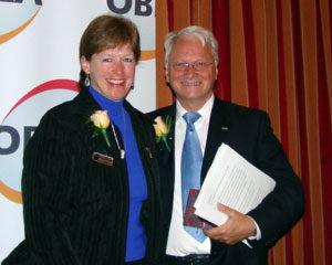 Rosy Nadalin Kennedy and  Leonard Bulmer
