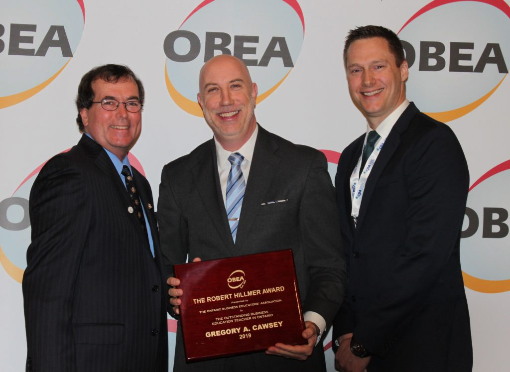Robert Hillmer Award - Greg Cawsey - Upper Grand DSB